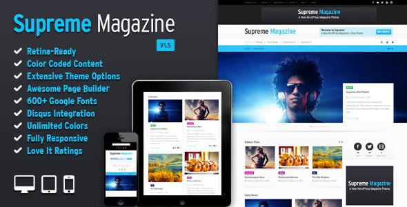 Traducción del tema Supreme para Wordpress | Arzak Web Technologies